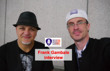 Frank Gambale interview at the 2015 @Musikmesse