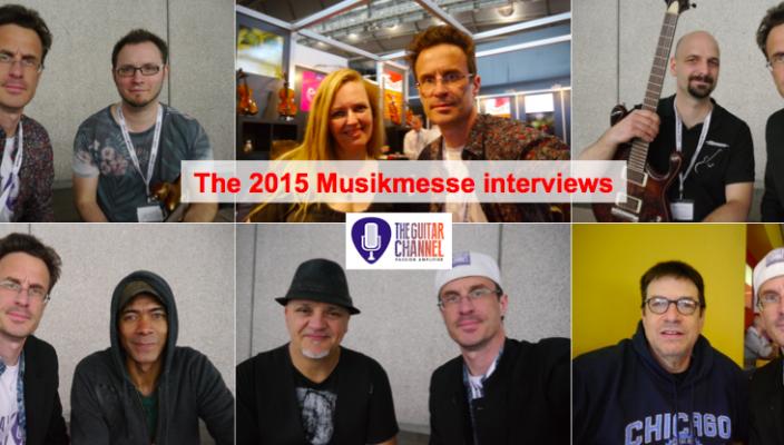 2015 Musikmesse interviews