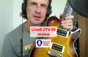 Line6 JTV-59: so many sounds in one guitar!