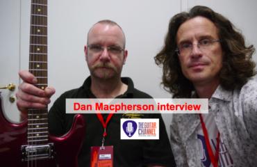 Dan Macpherson interview luthier at Guitares au Beffroi 2015