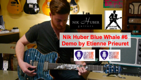 Demo of a Nik Huber Blue Whale guitar by Etienne Prieuret