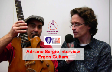 Adriano Sergio interview (Ergon Guitars) at the 2015 Holy Grail Guitar show