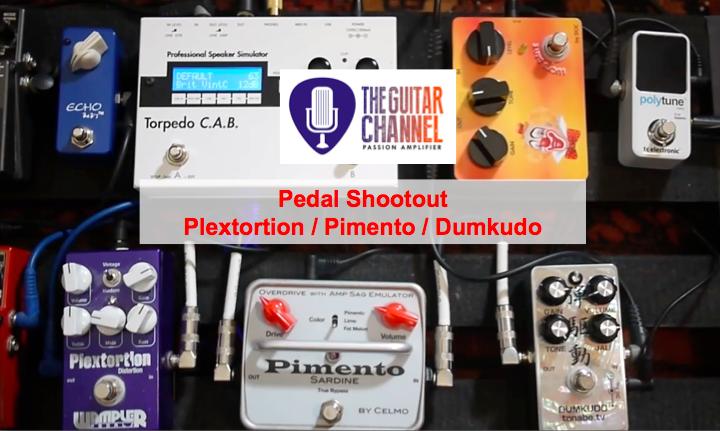 Pedal Review: shoutout Wampler Plextortion, Celmo Pimento, Tanabe Dumkudo