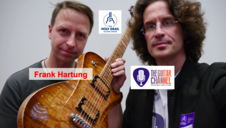 Frank Hartung interview, luthier at the Holy Grail Guitar Show