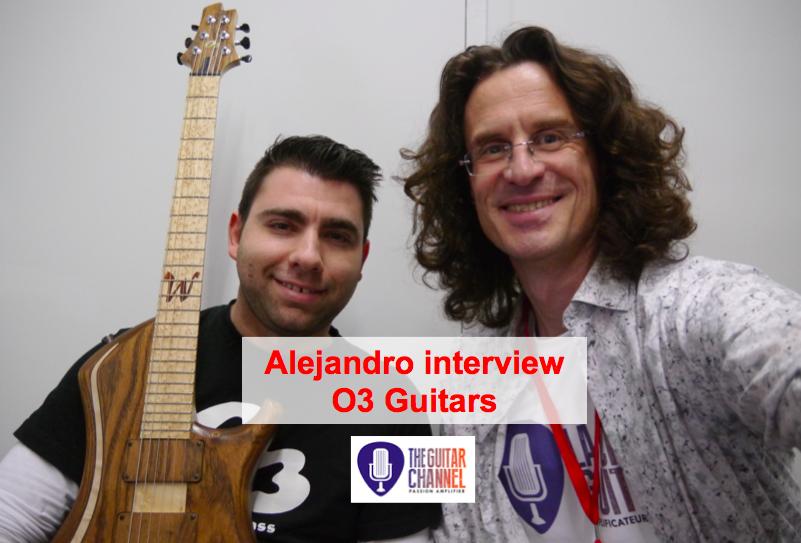Alejandro Ramirez interview luthier from O3 Guitars
