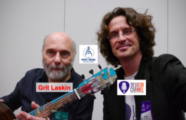 William Grit Laskin interview at the 2014 Holy Grail Guitar Show