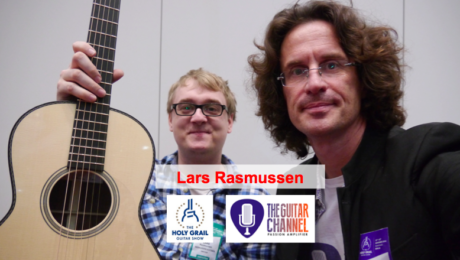 Lars Rasmussen interview at the 2014 Holy Grail Guitar Show