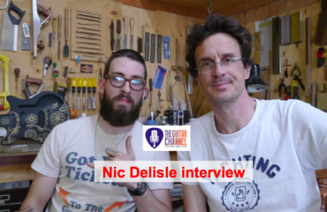 Luthier Nic Delisle interview
