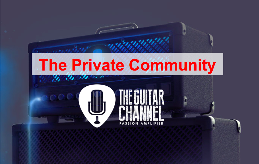 The Guitar Channel private community
