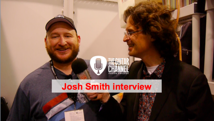 Josh Smith interview during the 2016 Winter NAMM