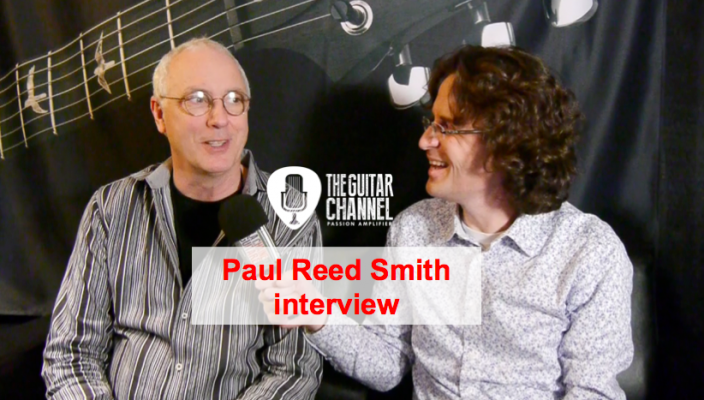 Paul Reed Smith interview at the 2016 Winter NAMM show