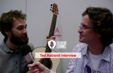 Luthier Ted Astrand interview at the 2015 Holy Grail Guitar Show