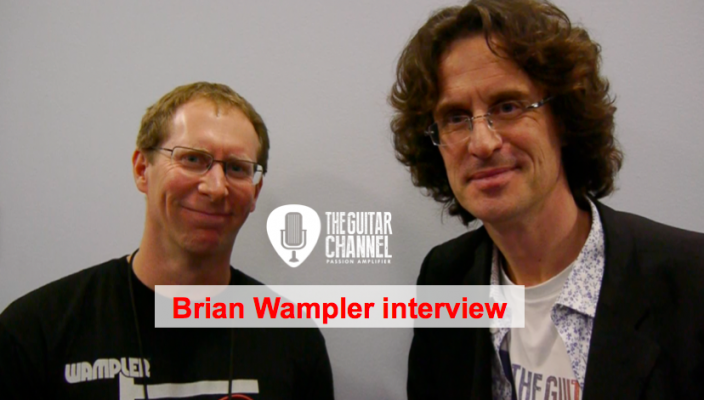Brian Wampler interview, founder of Wampler Pedals at the 2016 NAMM show