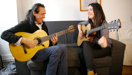 Anouck André et Serge Lopez - Guitar Duo