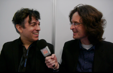 Alan Chaput Eventide specialist at the 2016 Musikmesse