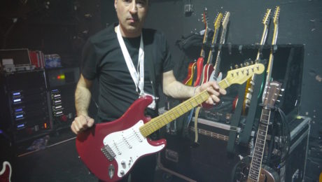 Guitar tech and luthier Francisco Rodriguez interview