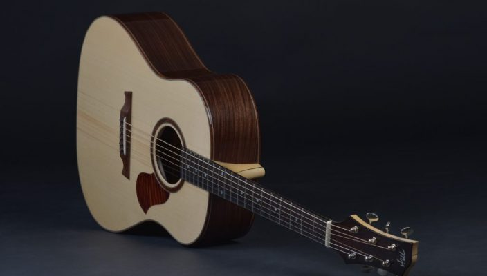 MJS Acoustic guitar J-78 built by luthier Godefroy Maruejouls