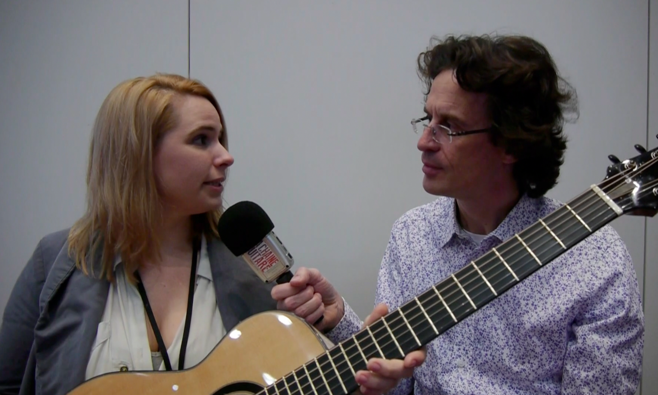 Luthier Sharleen Simmons interview at the Holy Grail Guitar Show