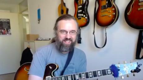 Jens Larsen Jazz guitar player and youtuber