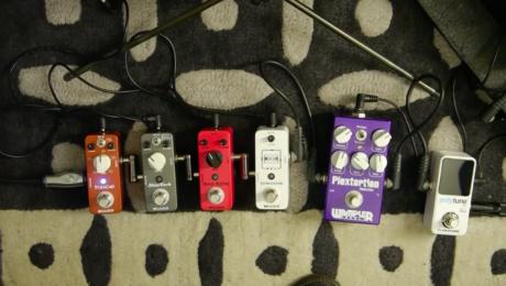 Trescab, Shimverb, Ana Echo, Micro Looper Mooer pedals review