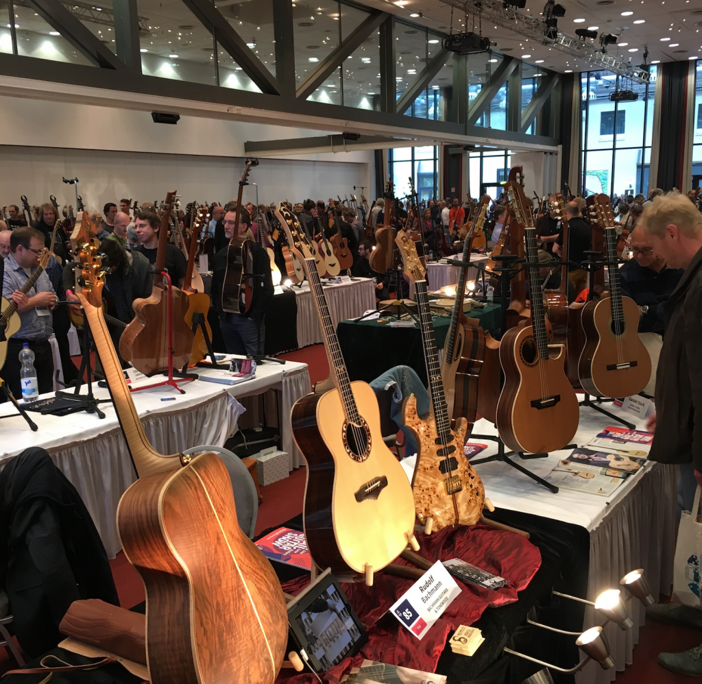 Holy Grail Guitar Show 2016 - Day 1 interviews