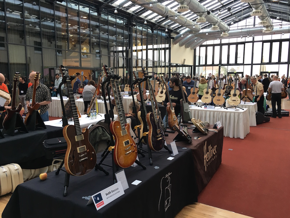 Holy Grail Guitar Show 2016 - Day 2 interviews