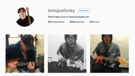 Tomo Fujija explains Mixolydian mode on Instagram