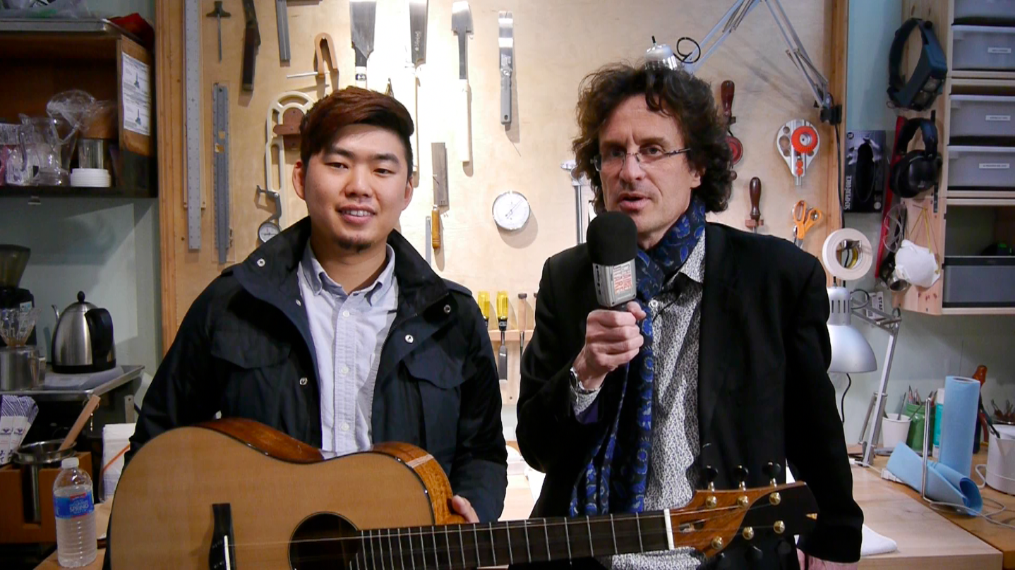 Isaac Jang luthier in Hollywood, Los Angeles