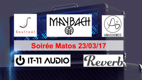 Gear Evening 23/03/17 - Soultool, Maybach, Anasounds, IT-11 Audio, Reverb.com