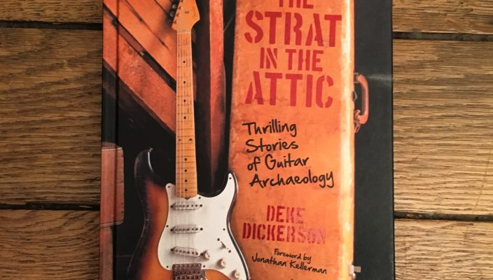 The Strat In The Attic: a fascinating book about Vintage guitar stories