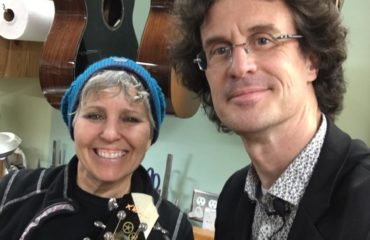 Kathy Wingert luthier interview in her Los Angeles workshop