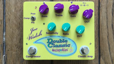 Pedal Review - Joe Walsh Double Classic from Analog Alien: overdrive/compressor