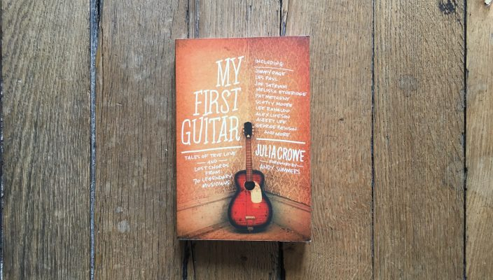 "Julia Crowe interview, author of the book ""My First Guitar"""