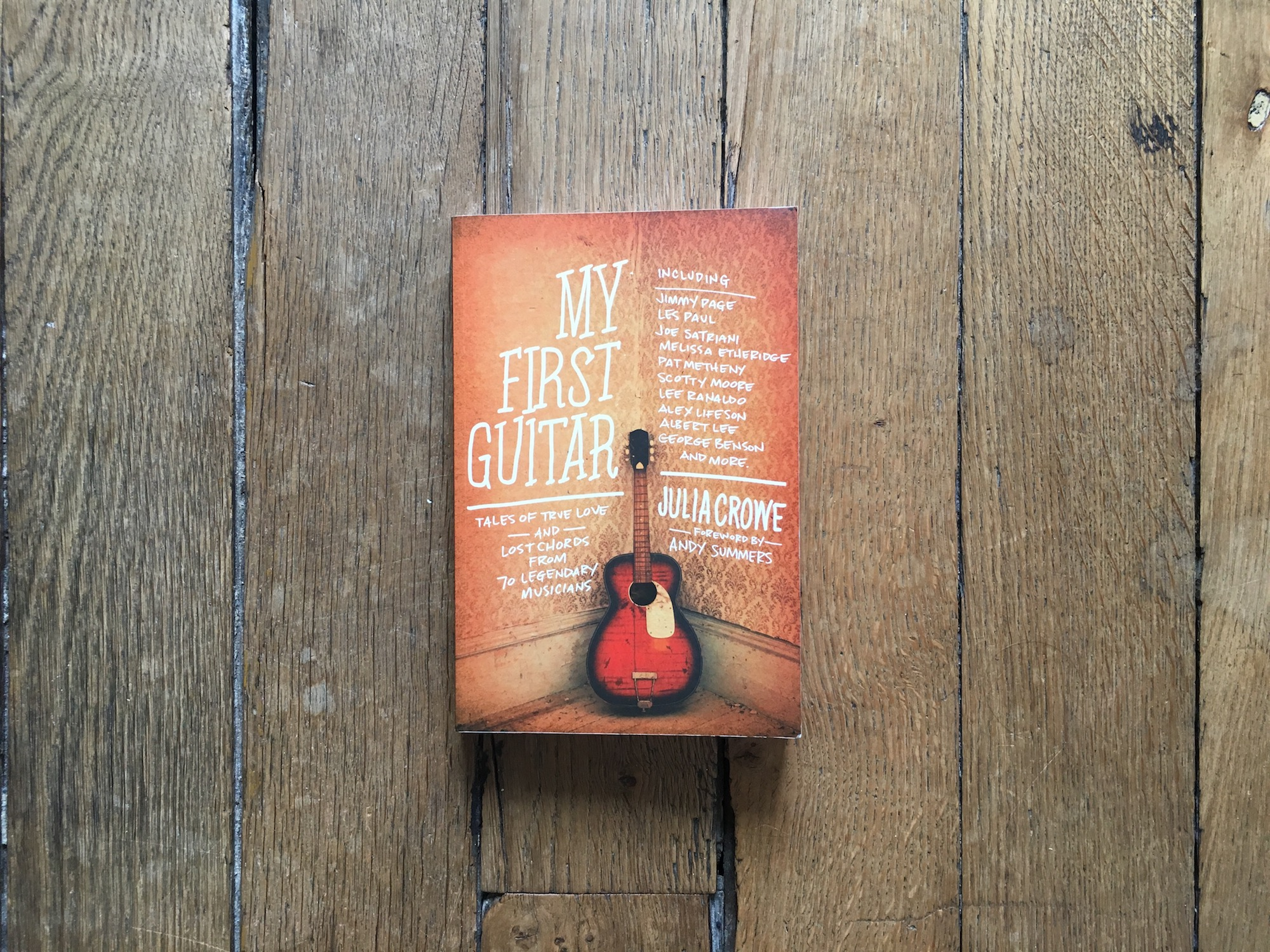julia crowe interview author of the book my first guitar the guitar channel. Black Bedroom Furniture Sets. Home Design Ideas
