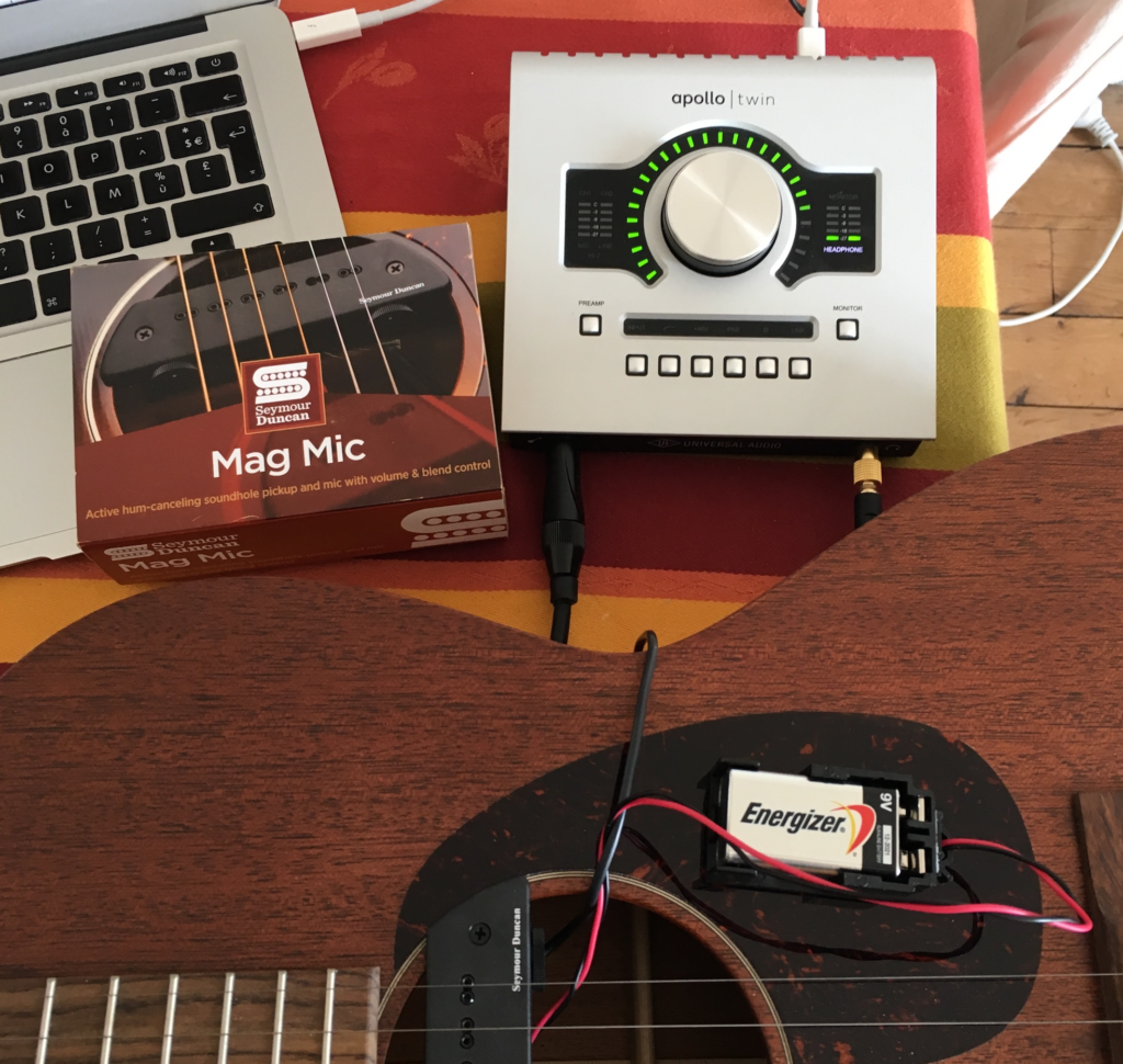 Gear Review - The Seymour Duncan Mag Mic system for acoustic guitar - The Guitar Channel