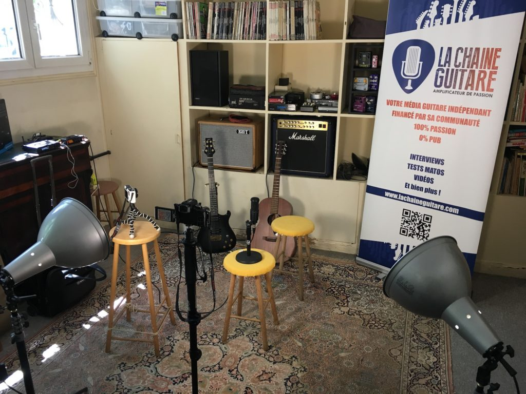 The Backstage showroom: gear cave reserved for the Backstage Pass subscribers