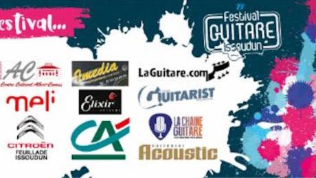 The Guitar Channel official partner of the Festival Guitare Issoudun