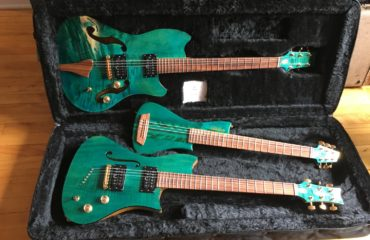 The 3 guitars of the Famiglia project by luthier Pablo Massa presented by Bruno's Fine Guitars