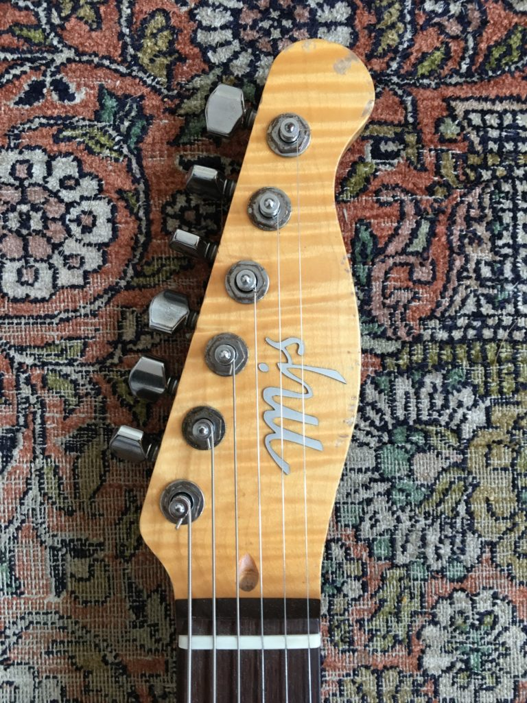 Guitar review - Sorcerer 62 MJS Guitars - Luthier Godefroy Maruejouls