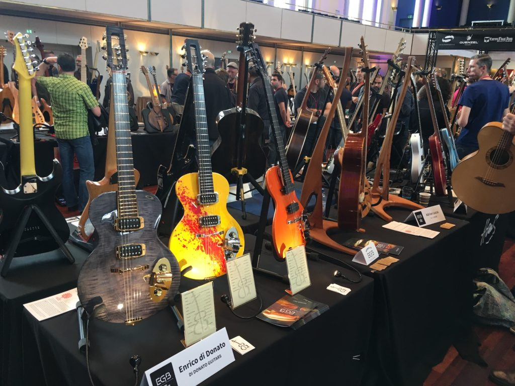 2017 Guitar Summit - The Guitar Channel report - Di Donato Guitars