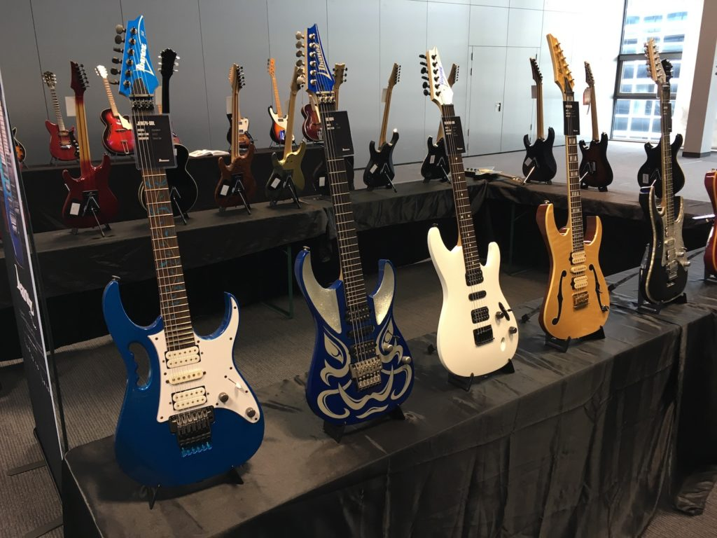 2017 Guitar Summit - The Guitar Channel report - Ibanez exhibition
