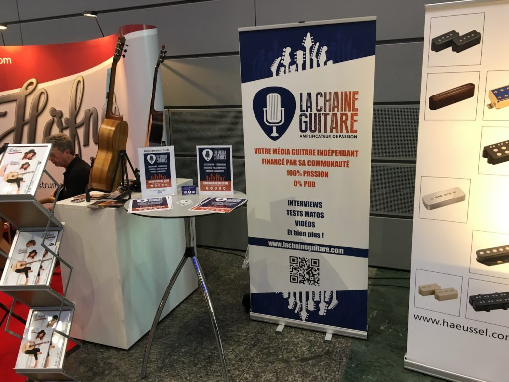 2017 Guitar Summit - The Guitar Channel booth