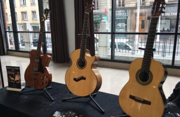 Gijs de Wit luthier interview - Guitares au Beffroi 2017