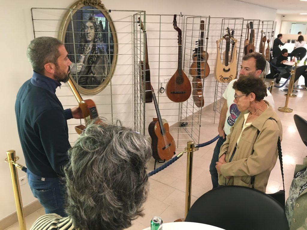 Festival de Guitare de Puteaux 2017 - Gaëdic Chambrier instrumentarium