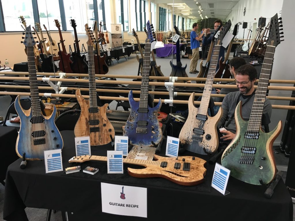 Festival de Guitare de Puteaux 2017 - Guitar Recipe booth