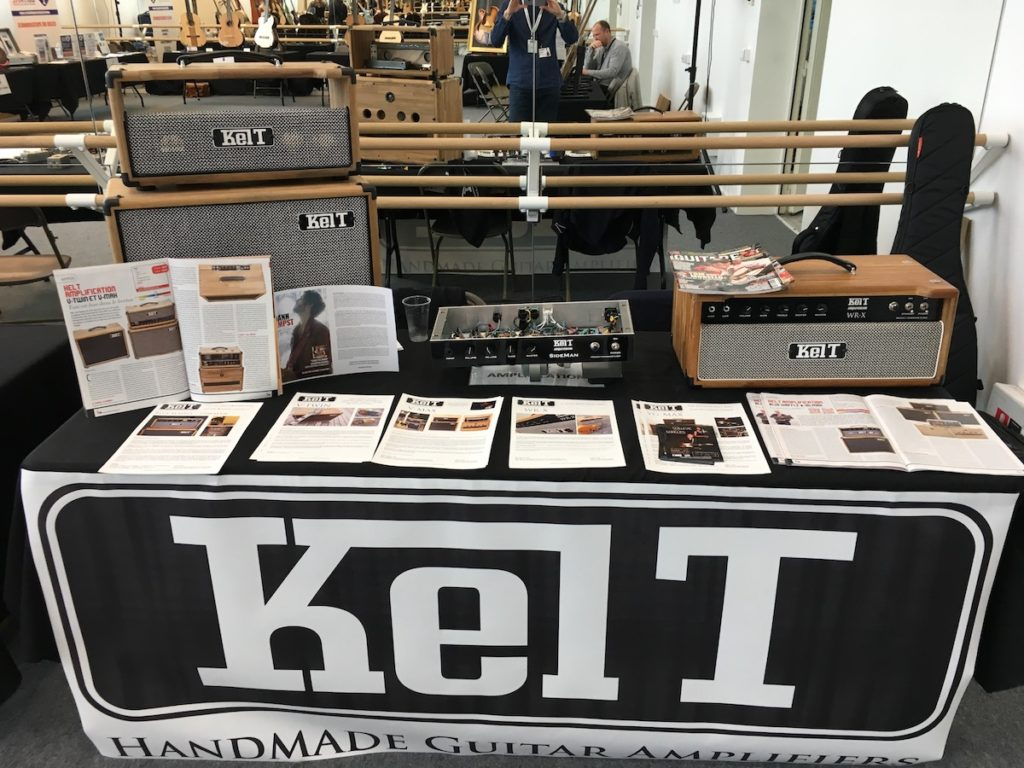 Festival de Guitare de Puteaux 2017 - Guitar show in full swing - Kelt Amplification