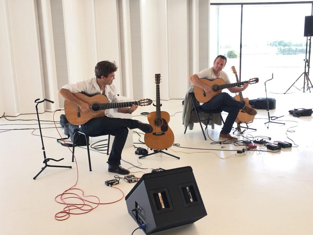 Festival de Guitare de Puteaux 2017 - Jean-Félix Lalanne and Eric Gombard masterclass