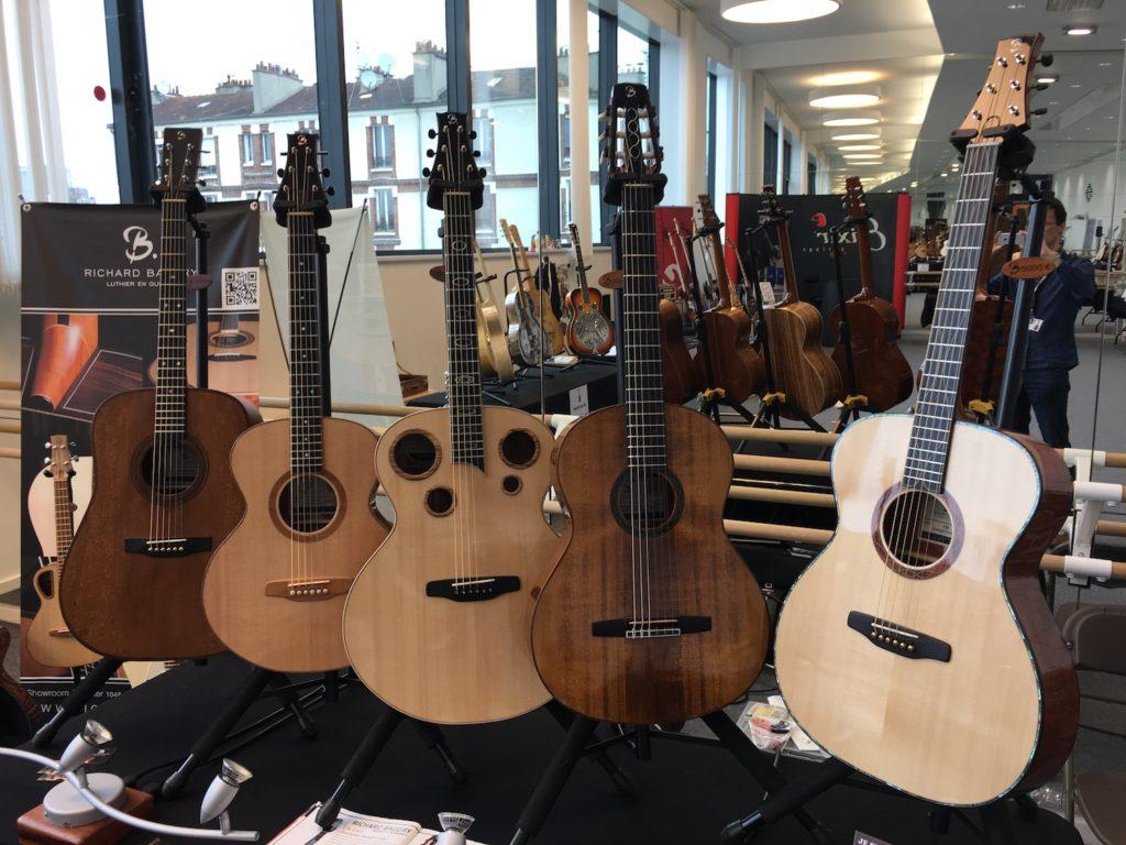 Festival de Guitare de Puteaux 2017 - Richard Baudry guitars