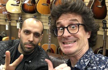 Mark Agnesi interview in the legendary Norman's Rare Guitars shop in Terzana, Los Angeles