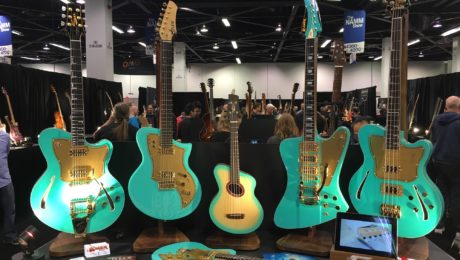 Boutique Guitar Showcase report - NAMM 2018